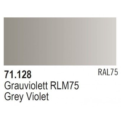VLJ-VALLEJO ACRYLIC PAINTS 71128 - GREY VIOLET RLM 75          17ML