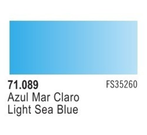 VLJ-VALLEJO ACRYLIC PAINTS 71089 - LIGHT SEA BLUE              17ML