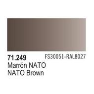 VLJ-VALLEJO ACRYLIC PAINTS NATO BROWN - Model Air