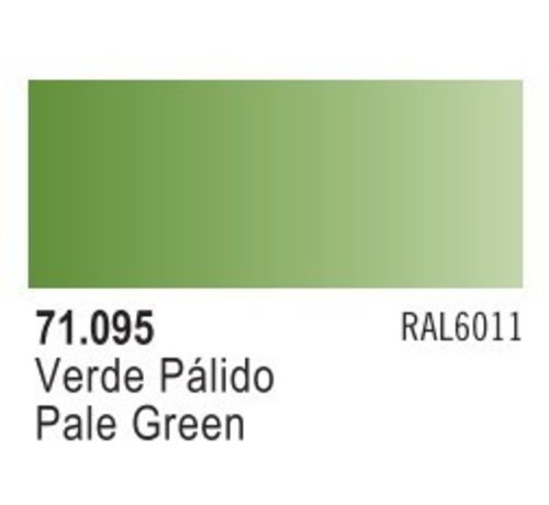 VALLEJO ACRYLIC (VLJ) 71095 - PALE GREEN                  17ML