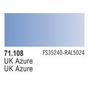 VLJ-VALLEJO ACRYLIC PAINTS UK AZURE  - Model Air