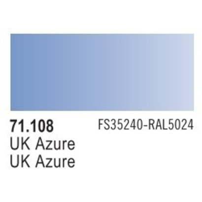 VLJ-VALLEJO ACRYLIC PAINTS 71108 - UK AZURE                    17ML