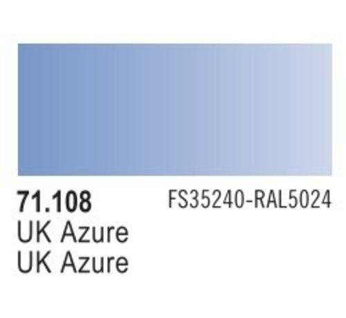 VALLEJO ACRYLIC (VLJ) 71108 - UK AZURE                    17ML