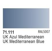 VLJ-VALLEJO ACRYLIC PAINTS UK MEDITERRANEAN BLUE - Model Air