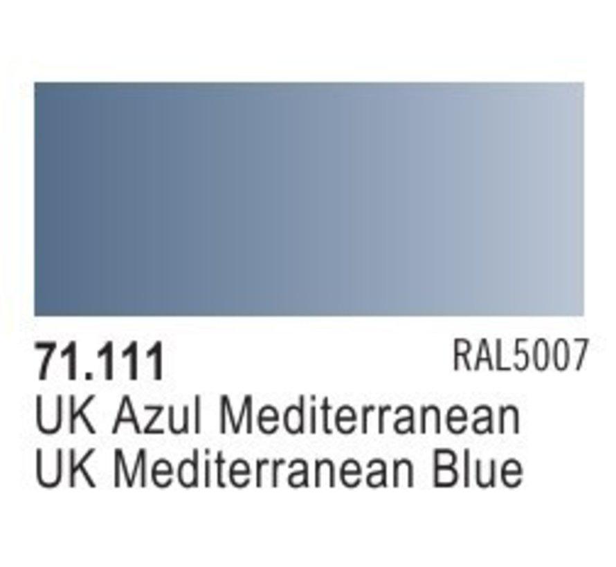 71111 - UK MEDITERRANEAN BLUE       17ML