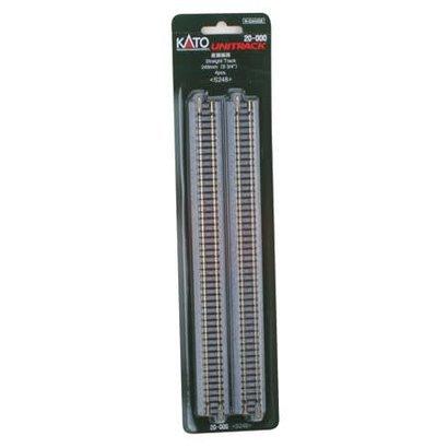 """KAT-Kato USA Inc 381- 20-000 N Track 248mm 9-3/4"""" Straight (4)"""