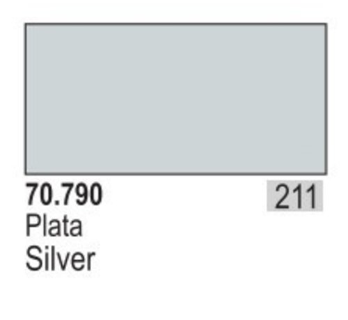 VLJ-VALLEJO ACRYLIC PAINTS 70790 - SILVER                      35ML