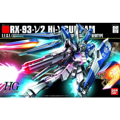 BANDAI MODEL KITS 158762	95 HI NU GUNDAM HG