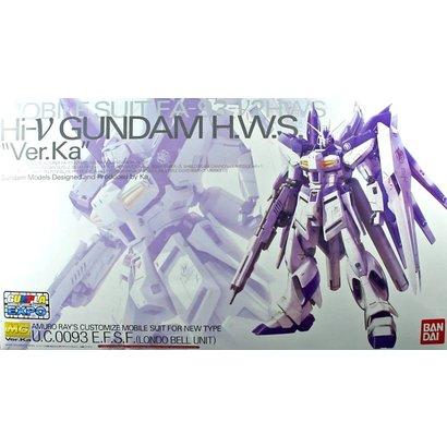BANDAI MODEL KITS 201889 MG 1/100 HWS Hi-nu Gundam Ver Ka Mechanical Clear Model