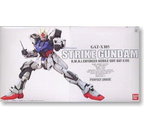 """BANDAI MODEL KITS 131413 Strike Gundam """"Gundam SEED"""" Bandai PG 1/60"""