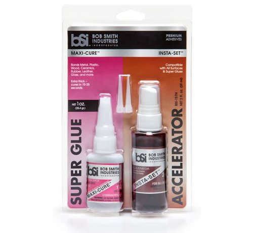 Bob Smith Industrie (BSI) 157H Maxi-Cure and Insta-Set COMBO-PACK