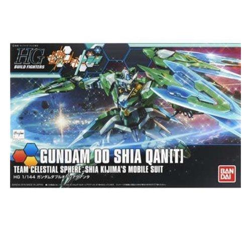 BANDAI MODEL KITS 209075 1/144 00 Qanta(T) Custom Gundam Build Fighters