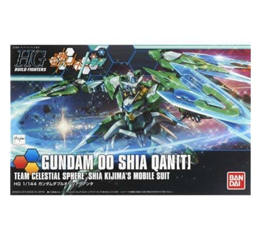 209075 1/144 00 Qanta(T) Custom Gundam Build Fighters