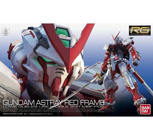 BANDAI MODEL KITS 200634 #19 MBF-P02 Gundam Astray Red Frame RG