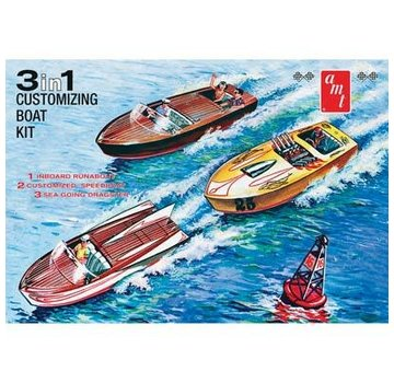 AMT - AMT Models Customizing Boat 3 in 1