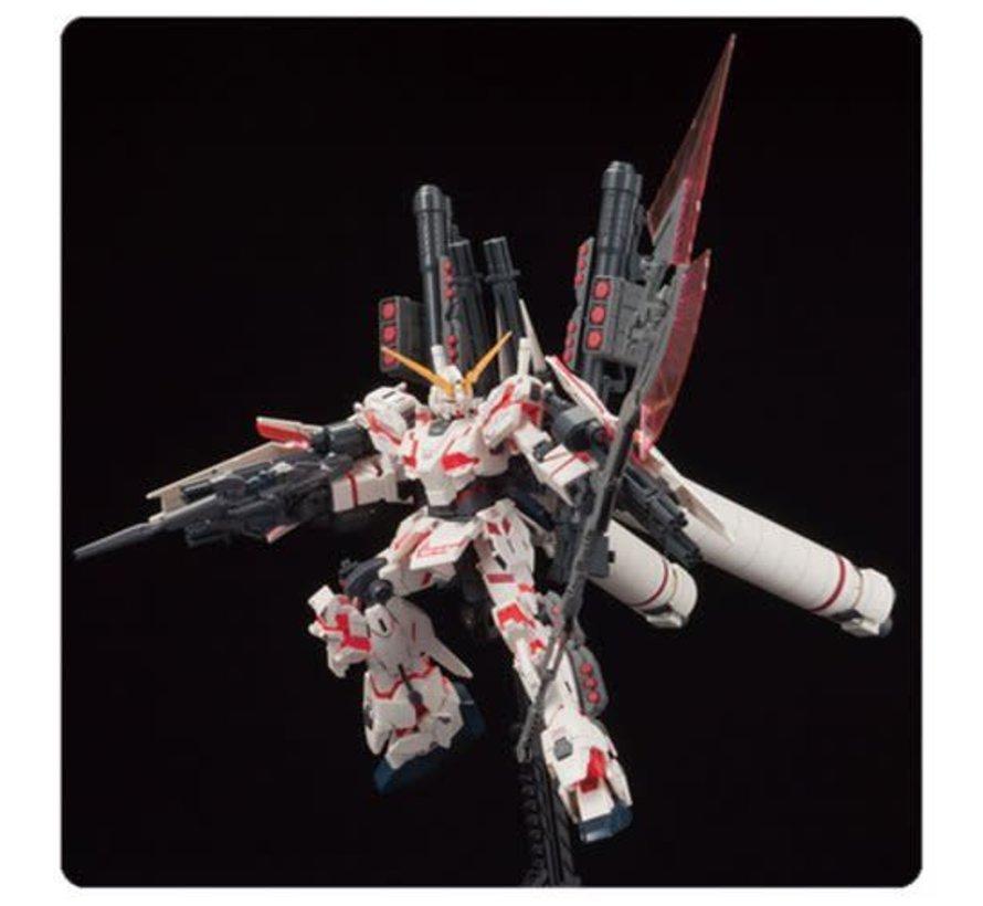 "207581 #199 Full Armor Unicorn Gundam Destroy Mode/Red Color Ver. ""Gundam UC"" Bandai HGUC 1/144"