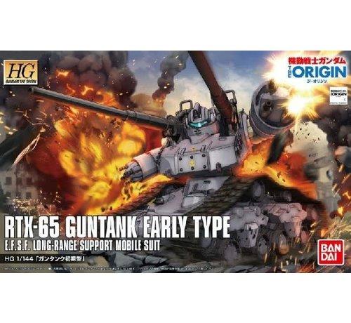 BANDAI MODEL KITS 196528 RTX-65 Guntank Early Type Gundam The Origin #002 HG