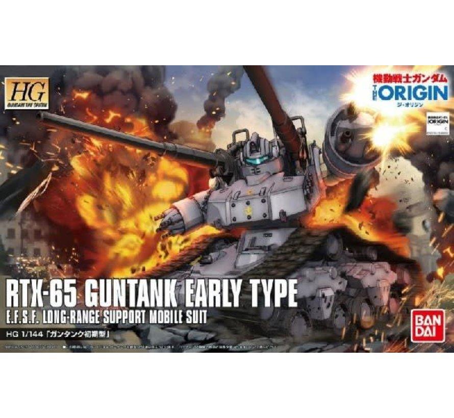 196528 RTX-65 Guntank Early Type Gundam The Origin #002 HG