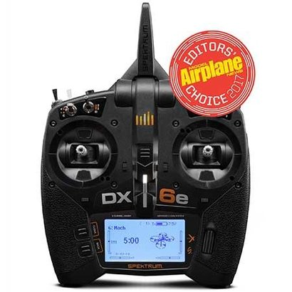 SPM - Spektrum R6650 DX6e 6CH Transmitter Only
