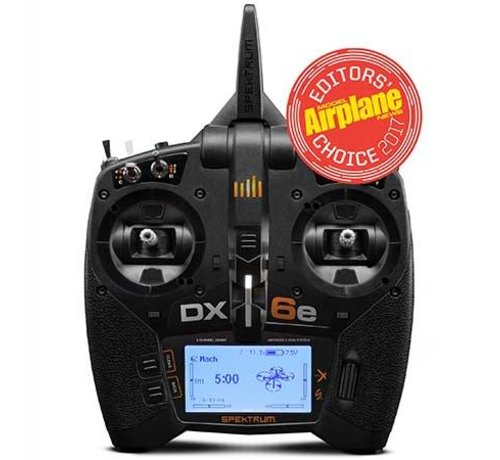 SPM - Spektrum R6650 DX6e 6CH Transmitter Only