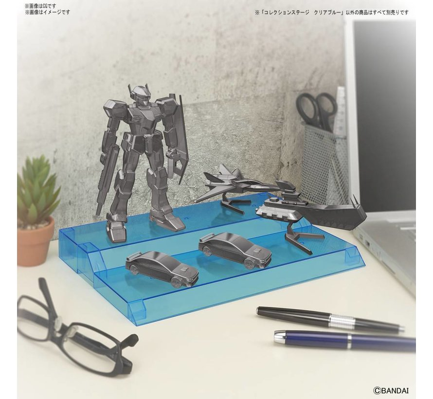 """221051 COLLECTION STAGE CLEAR BLUE  """"Collection Stage"""", Bandai"""