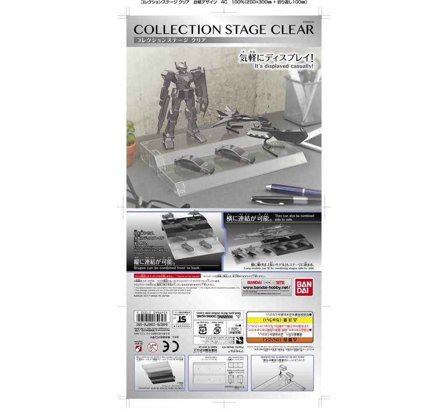 """221050 COLLECTION STAGE CLEAR """"Collection Stage"""", Bandai"""