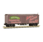 Micro-Trains Line (MTL) 489- 36' Wood-Sheathed Ice Reefer- Heinz 374 Apple Butter