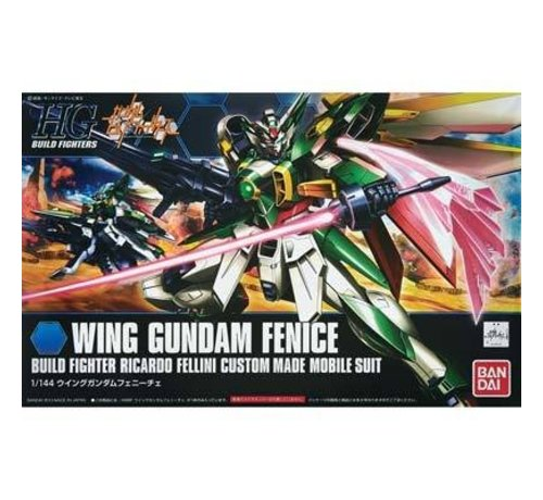 BANDAI MODEL KITS 185149 1/144 #06 Wing Gundam Fenice HG