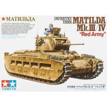 TAM - Tamiya 865- 35355 1/35 Infantry Tank Matilda Mk.III/IV Red Army