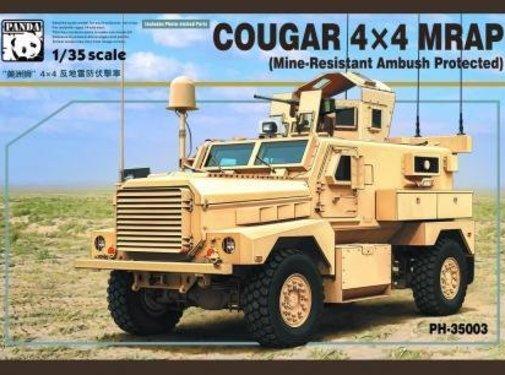 PANDA HOBBY (PHM) 1/35 US Army Cougar 4x4 MRAP