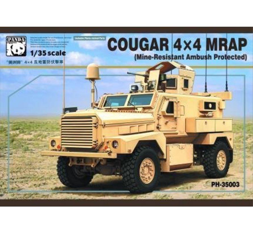 35003 1/35 US Army Cougar 4x4 MRAP (Mine Resistant Ambush Protected) Vehicle