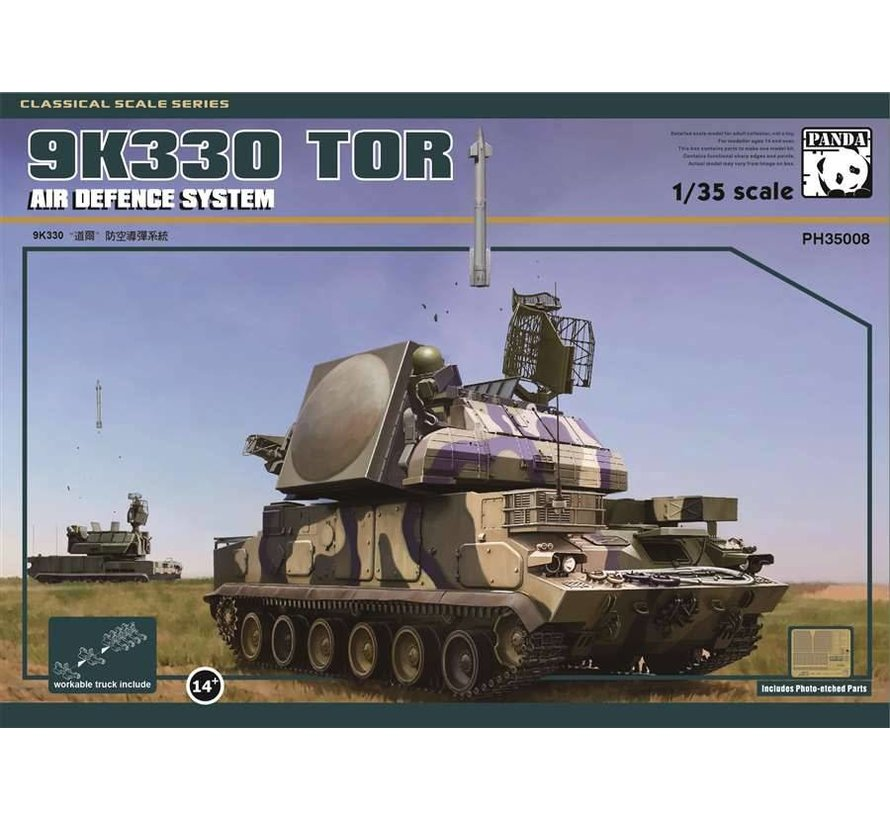 35008 - 1/35 Russian 9K330 TOR-M1 Air Defense Missile System
