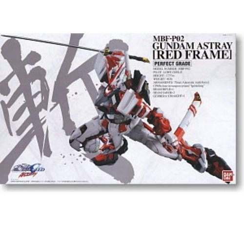 BANDAI MODEL KITS 158463 Gundam Astray Red Frame PG 1/60