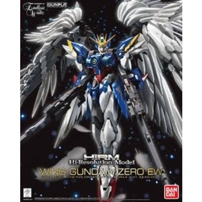 "BANDAI MODEL KITS 216746 Wing Gundam Zero EW  ""Gundam Wing: Endless Waltz"", Bandai Hi-Resolution Model 1/100"