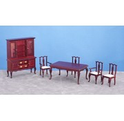 AZT - Aztec Imports DINING ROOM SET/6/MAH/CS