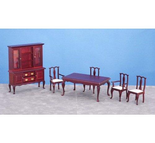 AZT - Aztec Imports DINING ROOM SET/6/MAH/CS