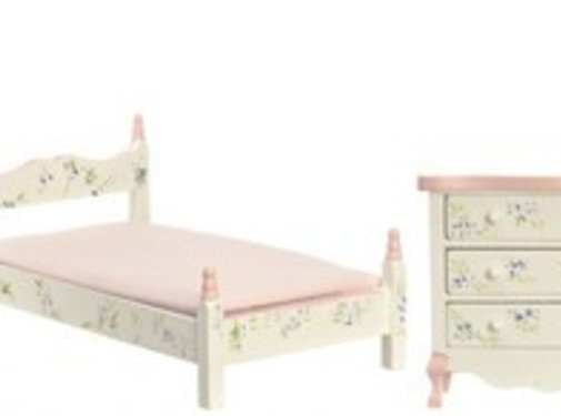 AZT - Aztec Imports PINK BEDROOM SET/5/CS