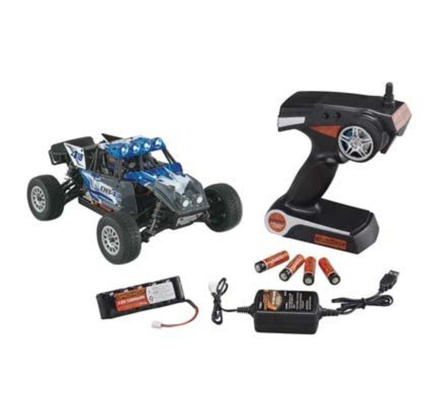 C0055 1/18 DB4.18BL Brushless 2.4GHz w/Battery/Charger