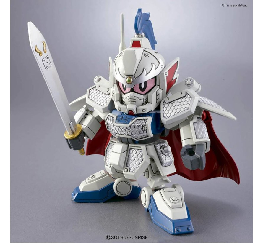 "BB406 GongSun Zan Ez-8 & Four Symbols Ogre Armor Chariot ""BB Senshi Sangokuden"" Bandai SD"