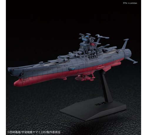 "BANDAI MODEL KITS 221062 U.N.C.F. Space Battleship Yamato 2202 ""Space Battleship Yamato 2202"" Bandai Mecha Collection"