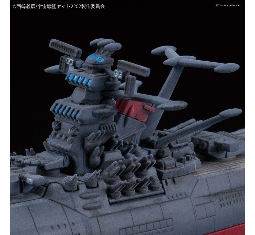 "221062 U.N.C.F. Space Battleship Yamato 2202 ""Space Battleship Yamato 2202"" Bandai Mecha Collection"