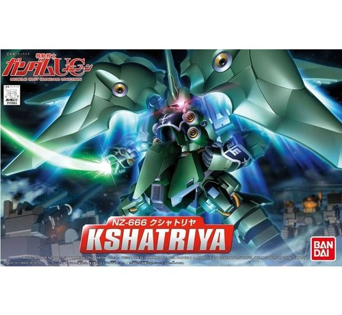 BANDAI MODEL KITS BB#367 Kshatriya Bandai SD