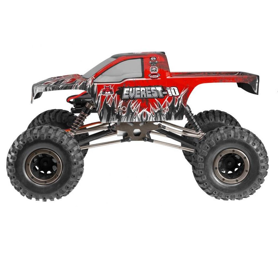 RED - EVEREST-10 Rock CRAWLER 1/10 SCALE ELECTRIC