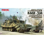 MGK-MENG MODEL KITS 1:35 Russian BMR3M Armored Mine Clearing Vehicle