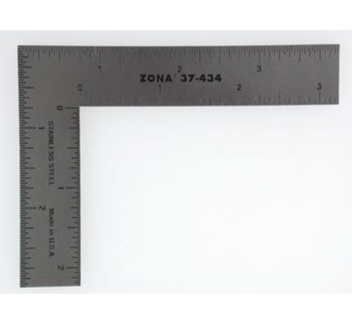 ZON- Zona 795- 37-434 Modelers L-Square 3 X 4