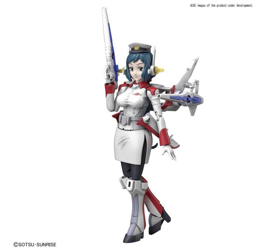 """225769 Mrs. Loheng-Rinko """"Gundam Build Fighters"""", Bandai HGBF 1/144"""
