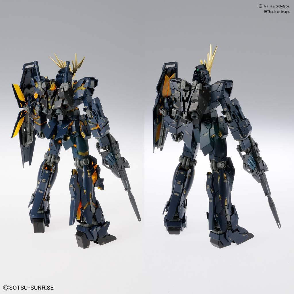 Unicorn Gundam 02 Banshee Ver Ka Gundam Uc Bandai Mg 1 100