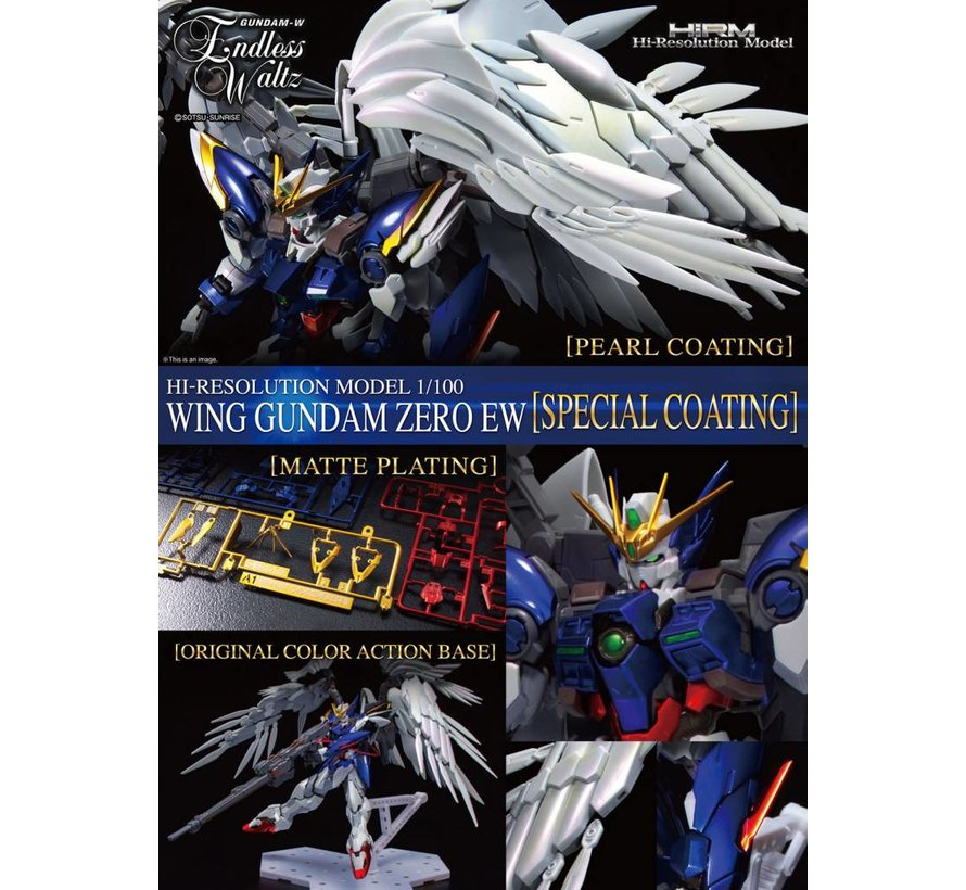 "227475 Wing Gundam Zero (EW) (Plated Coating), ""Gundam Wing: Endless Waltz"", Bandai Hi-Resolution Model 1/100"