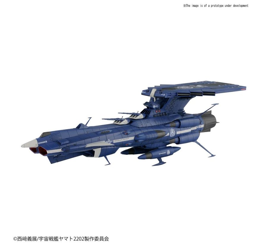 "222263 Apollo Norm ""Yamato 2202"", Bandai Star Blazers1/1000"