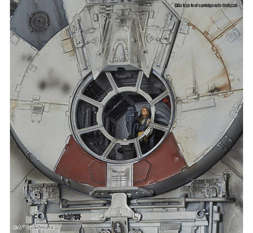 "(D) 225727 Millennium Falcon (Standard Edition) ""Star Wars: A New Hope"", Bandai 1/72 Perfect Grade (PG)"
